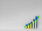 bar chart. good results poster