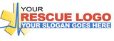 rescue logo poster