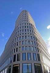 tall rounded building