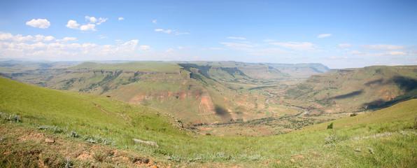 la route maloti en afrique du sud