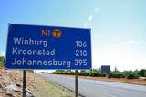 direction johannesburg poster
