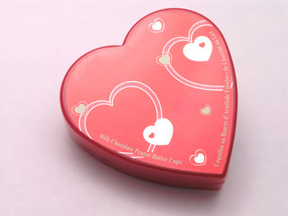 valentines candy box - hearts 1