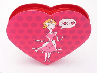 valentines candy box - xoxo 1