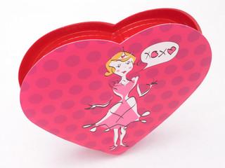 valentines candy box - xoxo 2