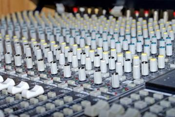mesa de edicion de sonido