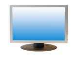 wide screen lcd monitor poster