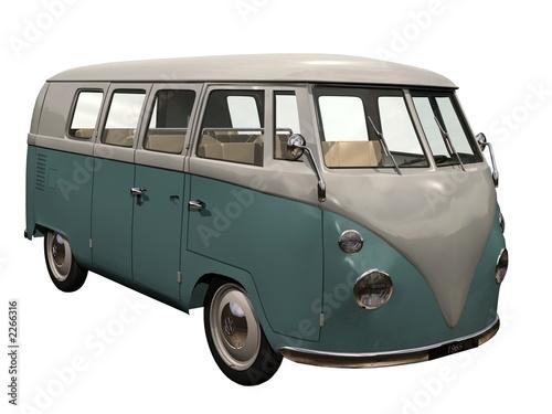combi van années 60-70