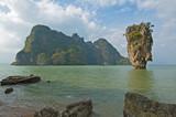 james bond island, phang nga, thailand poster
