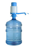 water can with pump ontop (with clipping path) poster