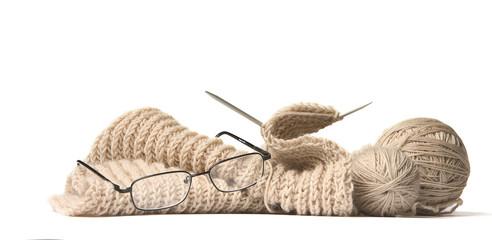 not finished knitting