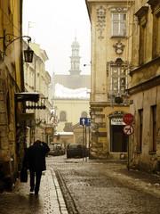 old krakow street