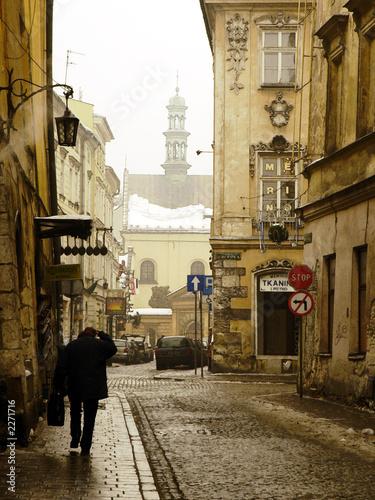 old krakow street © Andrii