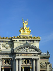 a part of a le grand opera in paris