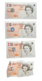 10 pound notes poster