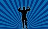 body builder ! poster