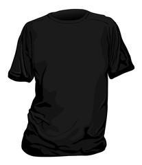t shirt nera