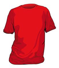 t shirt rossa
