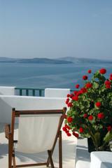 scenic view santorini