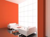 Fototapety modern interior.