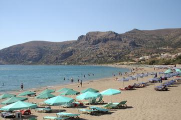 crete paleohora beach