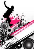 Fototapety processed beats
