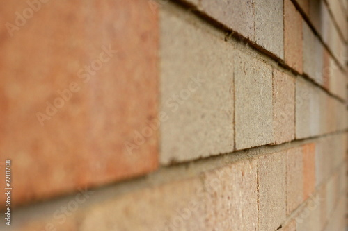 bricks in perspective