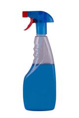 blue spray isolated