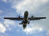 propeller aircraft poster