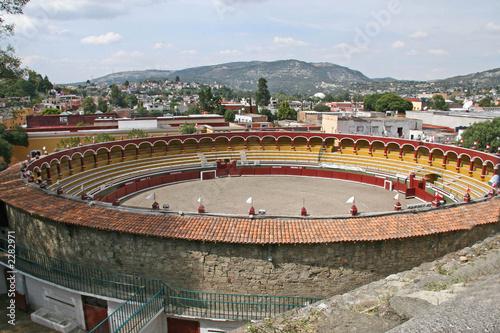 Leinwanddruck Bild les arénes de tlaxcala