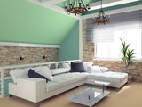 Fototapety green penthouse