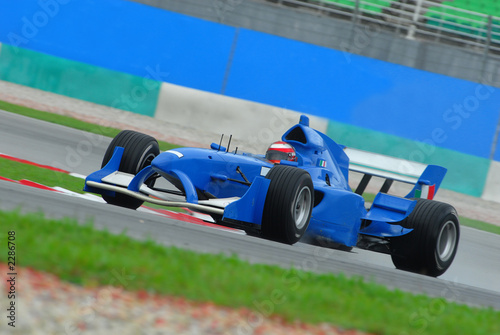 Foto op Canvas Snelle auto s stock photo of a1 grand prix in sepang malaysia 20