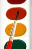 watercolor paints poster