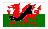 rubgy try wales poster