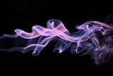 Fototapeta streszczenie - projekt - Dym