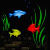 aquarium tropic poster poster