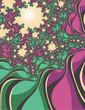 fractal flowering trees