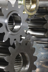 new gears, in a machinery-concept