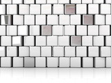 blocks abstract background