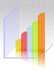transparent 3d graph