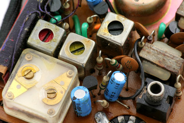 transistor radio set