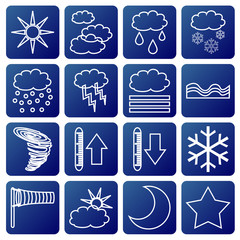 meteorologic symbols