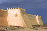 the famous old fortress in agadir poster
