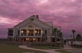 mansion at twilight poster