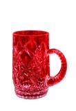 blood red mug poster