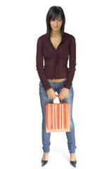 female customer