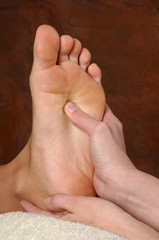 reflexology foot massage treatment