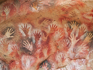 """cave of the hands"" rock paintings"