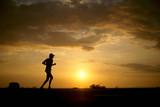 runner silhouette 01 poster