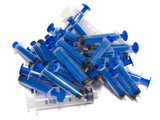exhausted syringes