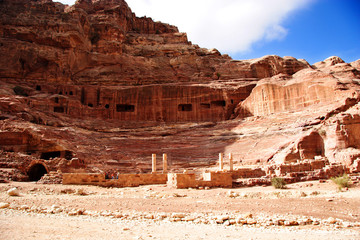 theatre at petra, jordan